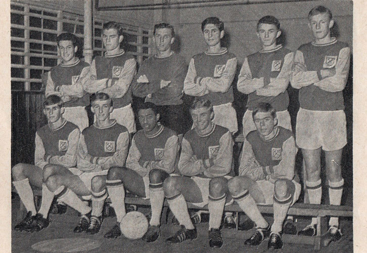 1963 FA Youth Cup winning team