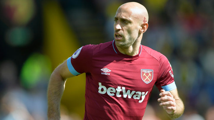 aef58962761 Pablo Zabaleta expects Manuel Pellegrini to continue to improve West Ham  United s fortunes next season. The defender ...