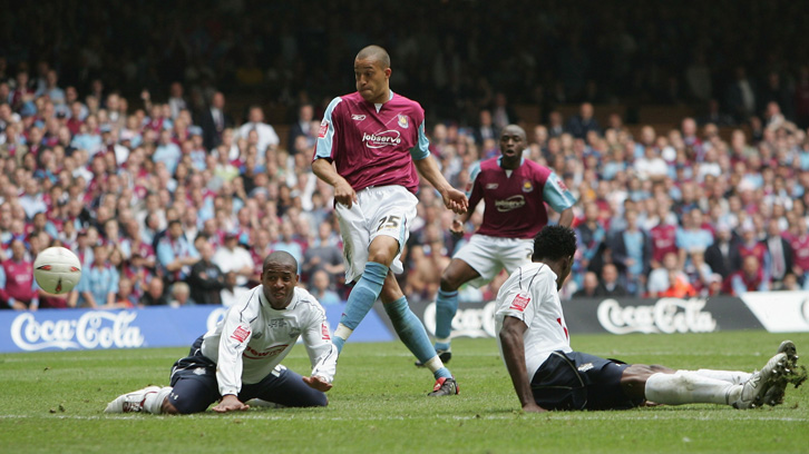 West Ham United's last meeting with Preston North End was in the 2005 Championship Play-Off final