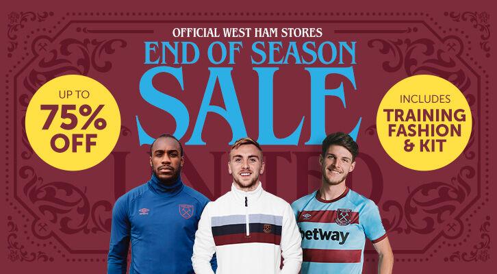 Prodej na konci sezóny